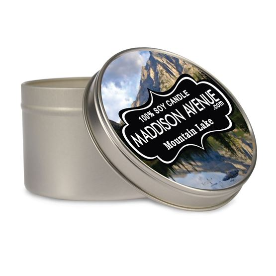 16 oz Tin Message Soy Candle by Maddison Avenue Candle Company