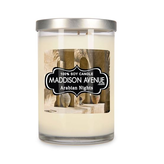 12 oz Sophia Soy Candle by Maddison Avenue Candle Company