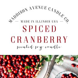 Spiced Cranberry  by Maddison Avenue Candle Company