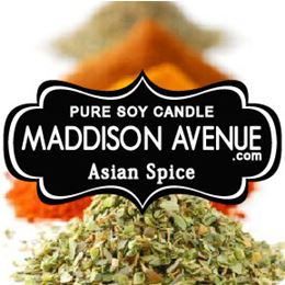 Asian Spice by Maddison Avenue Candle Company