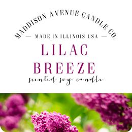 Lilac Breeze by Maddison Avenue Candle Company