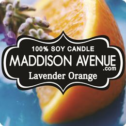 Lavender Orange by Maddison Avenue Candle Company
