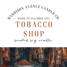 Tobacco Shop by Maddison Avenue Candle Company