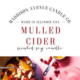 Mulled Cider by Maddison Avenue Candle Company