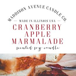 Cranberry Apple Marmalade by Maddison Avenue Candle Company
