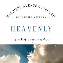Heavenly by Maddison Avenue Candle Company