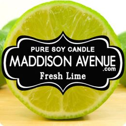 Fresh Lime by Maddison Avenue Candle Company