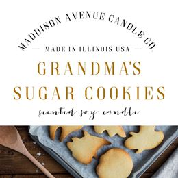 Grandmas Sugar Cookies by Maddison Avenue Candle Company