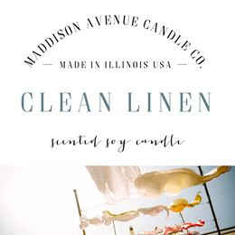 Clean Linen by Maddison Avenue Candle Company