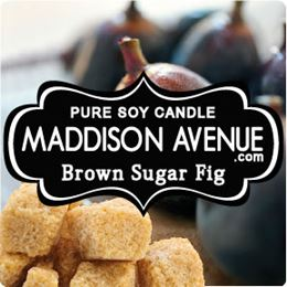 Brown Sugar and Fig by Maddison Avenue Candle Company
