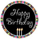Happy Birthday Specialty Label by Maddison Avenue Candle Company