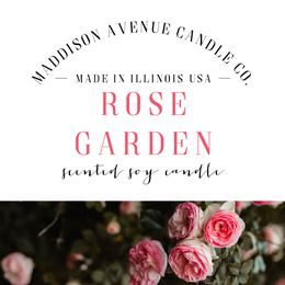 Rose Garden by Maddison Avenue Candle Company