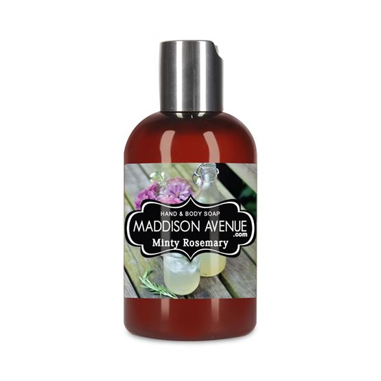 4 oz Travel Soy Protein Hand and Body Soap by Maddison Avenue Candle Company