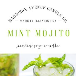 Mint Mojito by Maddison Avenue Candle Company