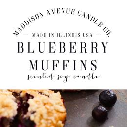 Blueberry Muffins by Maddison Avenue Candle Company
