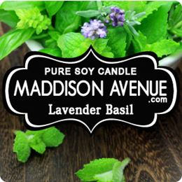 Lavender Basil by Maddison Avenue Candle Company