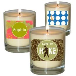 Personalized Candles by Maddison Avenue Candle Company