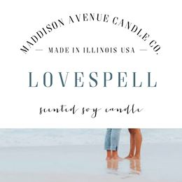 Lovespell by Maddison Avenue Candle Company