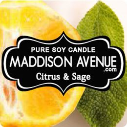 Citrus and Sage by Maddison Avenue Candle Company