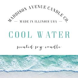 Cool Water  by Maddison Avenue Candle Company