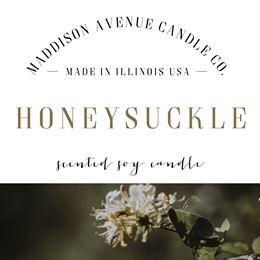 Honeysuckle by Maddison Avenue Candle Company