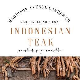 Indonesian Teak by Maddison Avenue Candle Company
