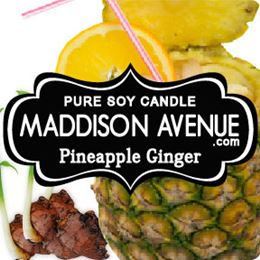 Pineapple Ginger by Maddison Avenue Candle Company