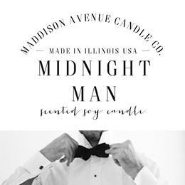 Midnight Man by Maddison Avenue Candle Company