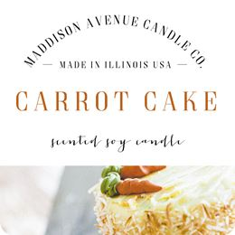 Carrot Cake by Maddison Avenue Candle Company