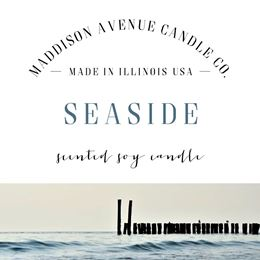 Seaside by Maddison Avenue Candle Company