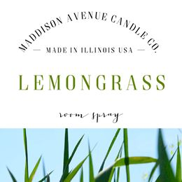Lemongrass by Maddison Avenue Candle Company