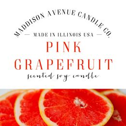 Pink Grapefruit by Maddison Avenue Candle Company