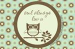 Owl Always Love U Specialty Label by Maddison Avenue Candle Company