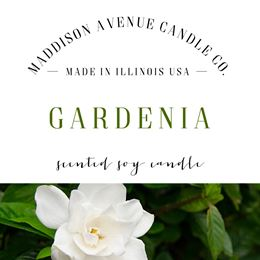 Gardenia by Maddison Avenue Candle Company