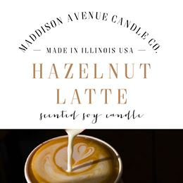 Hazelnut latte by Maddison Avenue Candle Company