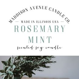Rosemary Mint by Maddison Avenue Candle Company