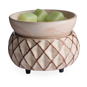 Lattice 2-in-1 Classic Tart Warmer by Maddison Avenue Candle Company