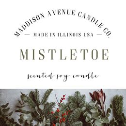 Mistletoe by Maddison Avenue Candle Company