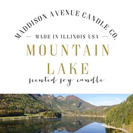 Mountain Lake by Maddison Avenue Candle Company