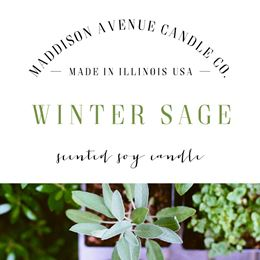 Winter Sage by Maddison Avenue Candle Company