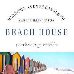 Beach House by Maddison Avenue Candle Company