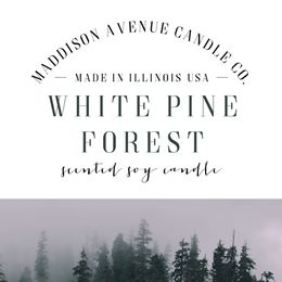 White Pine Forest by Maddison Avenue Candle Company