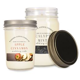 Jelly Jars by Maddison Avenue Candle Company