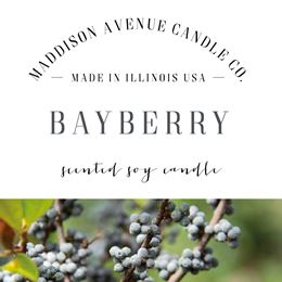 Bayberry by Maddison Avenue Candle Company
