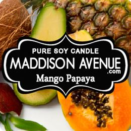 Mango Papaya by Maddison Avenue Candle Company