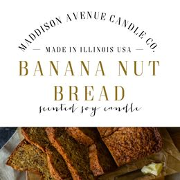 Banana Nut Bread by Maddison Avenue Candle Company