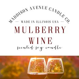 Mulberry Wine by Maddison Avenue Candle Company