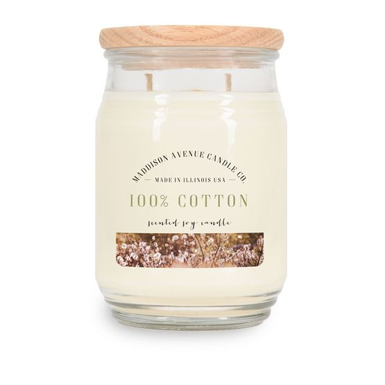 20oz Farmhouse Pantry Jar by Maddison Avenue Candle Company