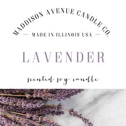 Lavender Flower by Maddison Avenue Candle Company
