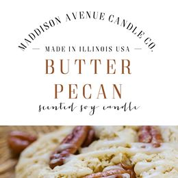 Butter Pecan by Maddison Avenue Candle Company